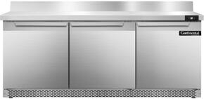 Continental Refrigerator SW72BSFB