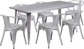 Flash Furniture ETCT005670SILGG
