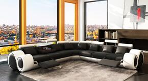 VIG Furniture VGEV4087BLKWHTHL