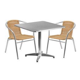 Flash Furniture TLHALUM32SQ020BGECHR2GG
