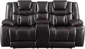 Global Furniture USA U1706AGNESESPRESSOPCRLSWPHR