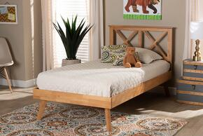 Wholesale Interiors SW8219RUSTICBROWNTWIN