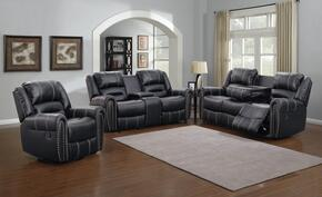 Myco Furniture 1027SBK3PC