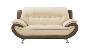 American Eagle Furniture EKB600CRMTPELS