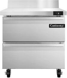 Continental Refrigerator SWF32BSD