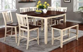 Furniture of America CM3326WCPT8PCPBN