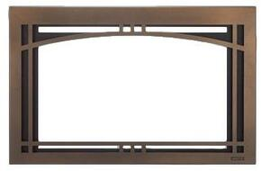 """CASFI35BZ Contemporary Arch 35"""" Screen Front in Bronze"""