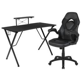 Flash Furniture BLNX10RSG1031BKGG