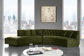Meridian 641OliveSectional