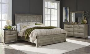 Global Furniture USA SOHOSILVERQBDMNS