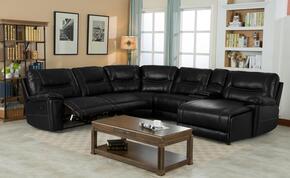 Myco Furniture 1021RFCHBK