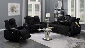 Myco Furniture 1106SBK3PC
