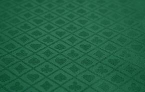 FABRIC-GRN-SS Poker Table Fabric Option - Green Suited Speed Cloth