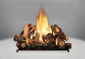 B35NTL Burner Assembly, Oak Log Set Configuration (Natural Gas)