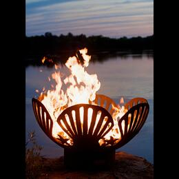 Fire Pit Art BB