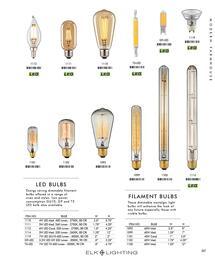 ELK Lighting LEDEDISONSHORT