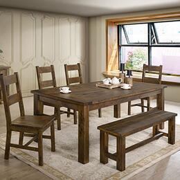 Furniture of America 6PCRECDH4BRKIT1