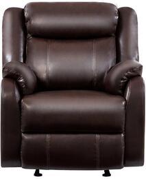Global Furniture USA U9303CBRGRWCONTRASTSTITCHINGMSP