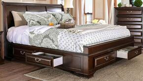 Furniture of America CM7302CHQBED