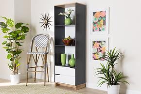 Wholesale Interiors MPC8006OAKGREYWHITESHELF