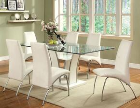 Furniture of America CM8372WHT6SC