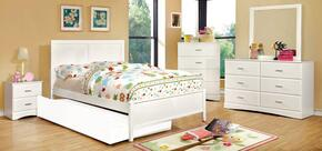 Furniture of America CM7941WHTBNCDM