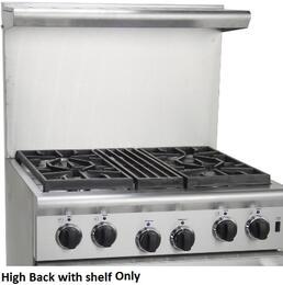 "ARR4821HBSL 20"" High Back with Shelf"