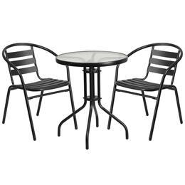 Flash Furniture TLH071RD017CBK2GG