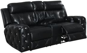Global Furniture USA U8311BLANCHEBLACKPCRLS