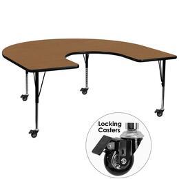 Flash Furniture XUA6066HRSEOAKTPCASGG