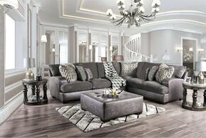 Furniture of America SM5202GYSECTSET