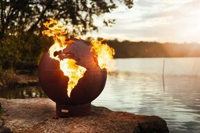 Fire Pit Art THIRDROCKMLS180LPAWEIS