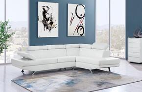 Global Furniture USA U9782NWHSECTIONAL
