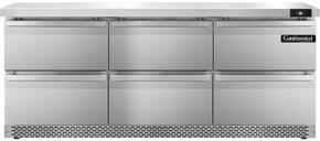 Continental Refrigerator SW72FBD