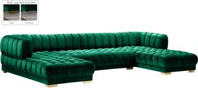 Meridian 653GREENSECTIONAL