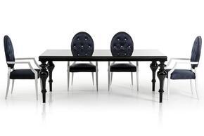 VIG Furniture VGDVLS212BLKCH