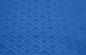 FABRIC-BLU-SS Poker Table Fabric Option - Blue Suited Speed Cloth