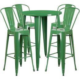 Flash Furniture CH51090BH430CAFEGNGG