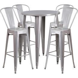 Flash Furniture CH51090BH430CAFESILGG