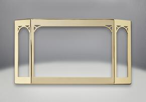 GS328GSB Door with Safety Barrier in 24 Karat Gold Plated Finish