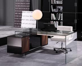 VIG Furniture VGWCALASKAOFFBLK