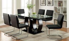Furniture of America CM3825BKTTABLE6SC