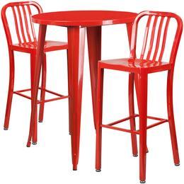 Flash Furniture CH51090BH230VRTREDGG