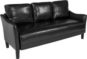 Flash Furniture SLSF9153BLKGG