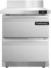 Continental Refrigerator SWF27BSFBD