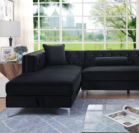 Furniture of America CM6652BKSECT