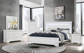 Global Furniture USA POMPEIWHFBDMNS