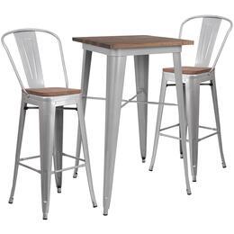 Flash Furniture CHWDTBCH2GG