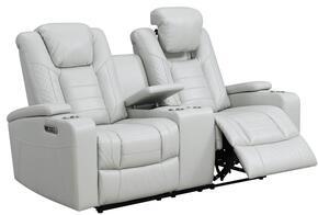 Global Furniture USA U1867LT06CHALKLGPCRLSWPHR