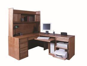 Forest Designs B10501018BGDESK66WRETURN82WWA